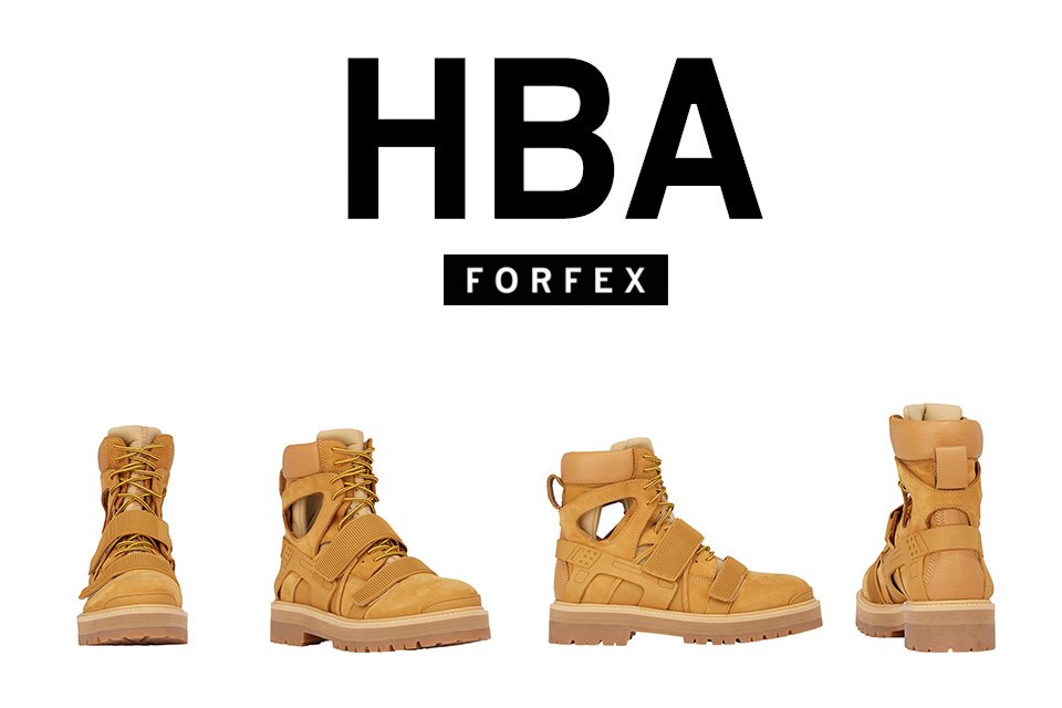 Hood By Air X Forfex Avalanche Boot Eyesmag 아이즈매거진