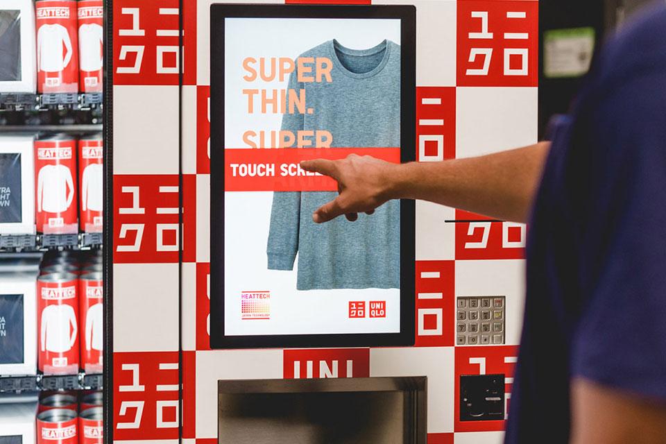 UNIQLO Vending Machines 01