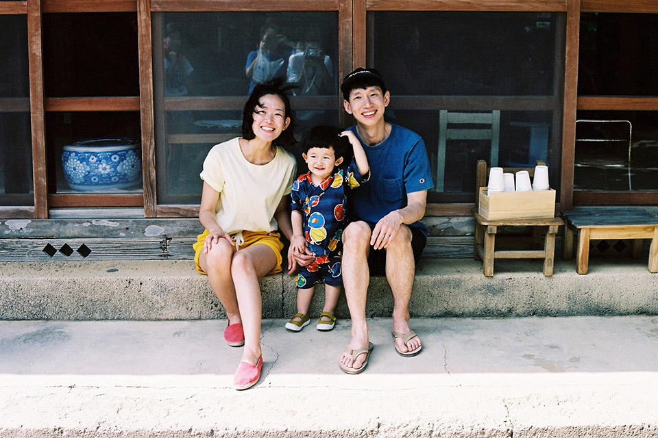 Bongtaegyu family Okinawa editorial with Champion Tokyo Collection main