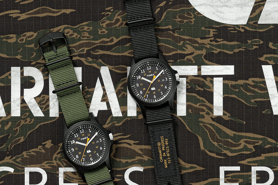 carhartt-wip-timex-wary watch collection main