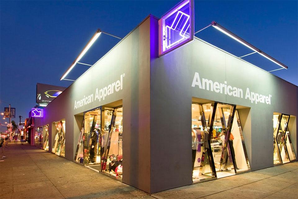 American Apparel Website main