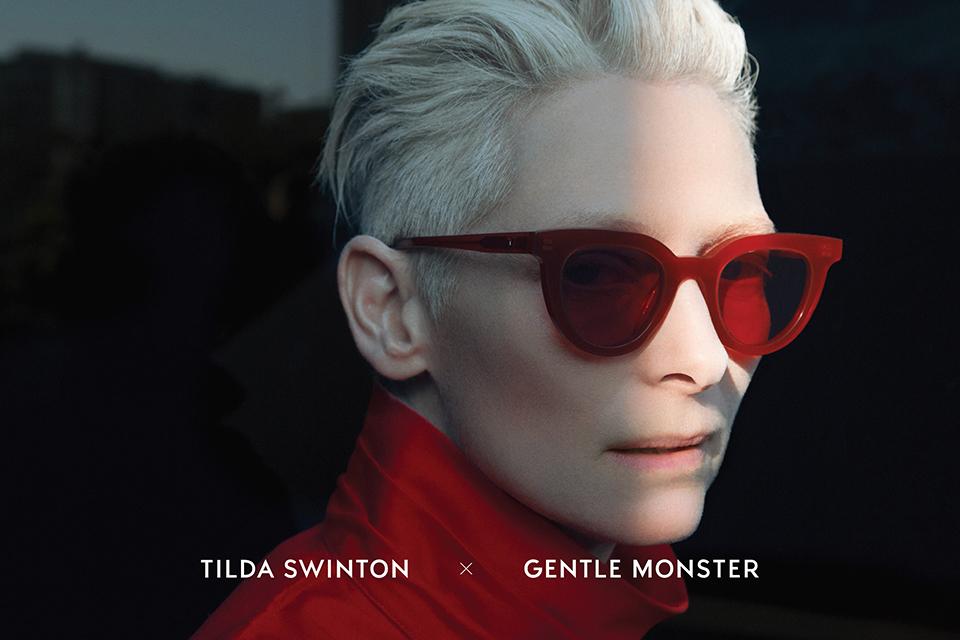 GentleMonster x Tilda Swinton Collaboration