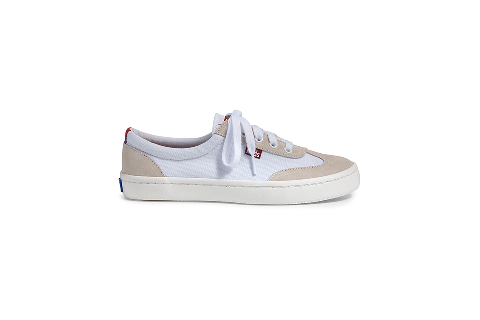 Keds, TOURNAMENT TEXTILE SUEDE sneakers 01