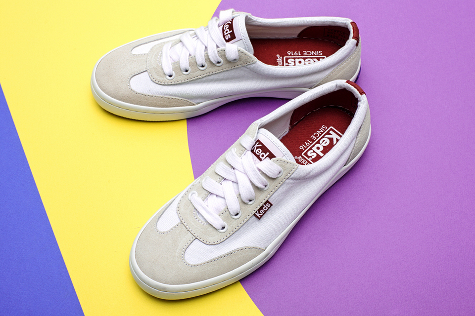 Keds, TOURNAMENT TEXTILE SUEDE sneakers main