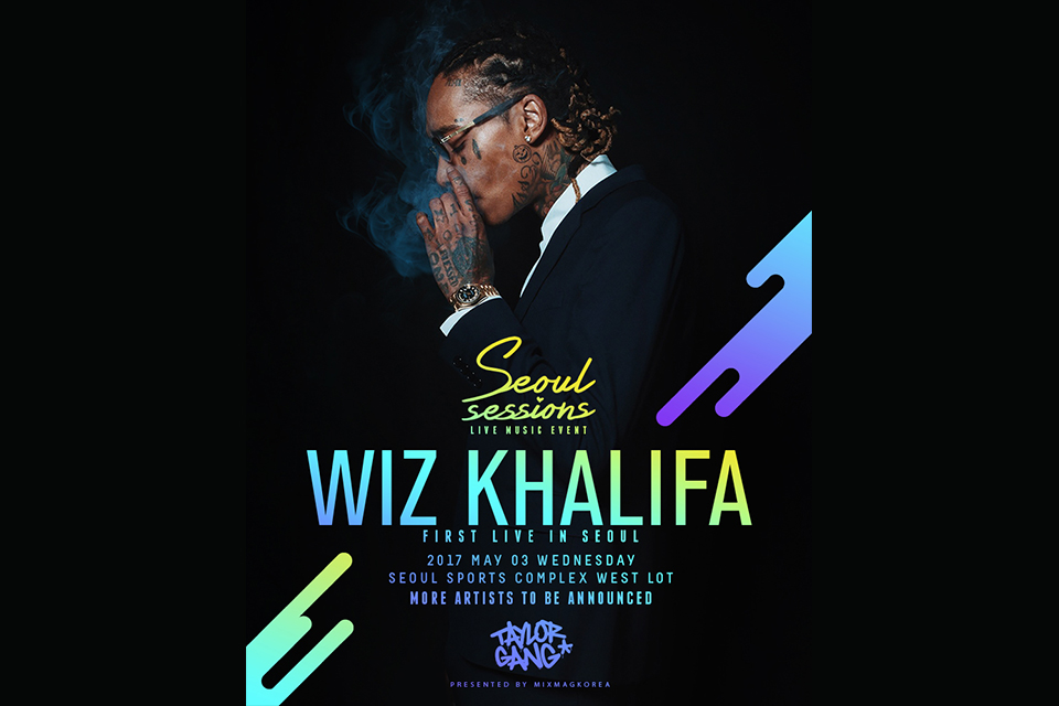 Wiz Khalifa first public performance in Korea May Third