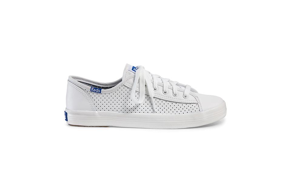 Keds, KICKSTART PERF LEATHER sneakers 01