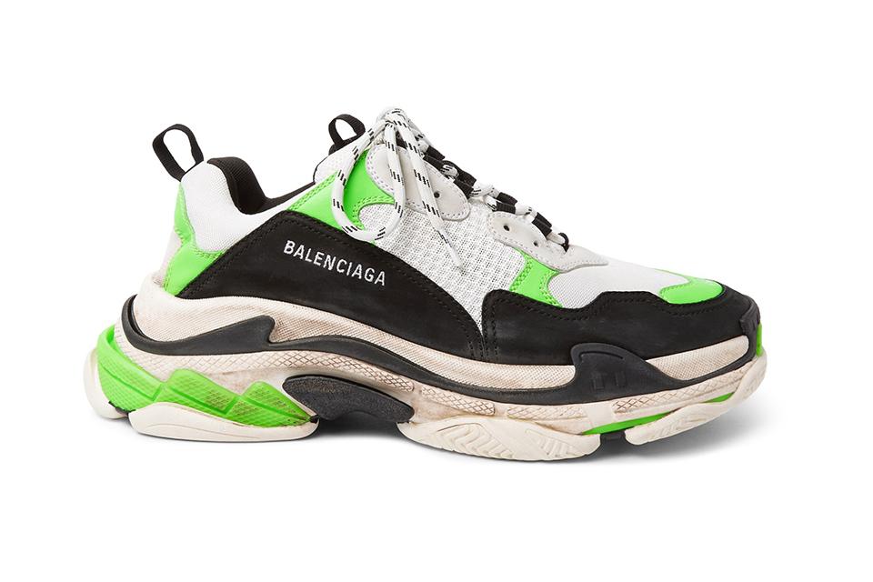 mr-porter-balenciaga-triple-s-trainer-Fluorescent-green
